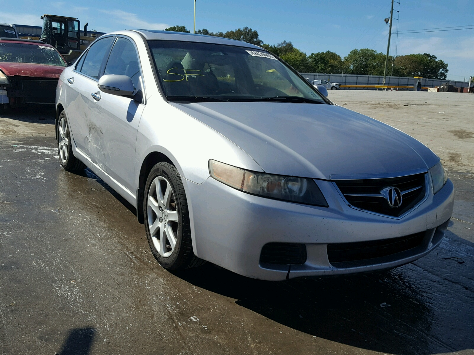 2005 Acura Tsx 2 4L for Sale at Copart Auto Auction