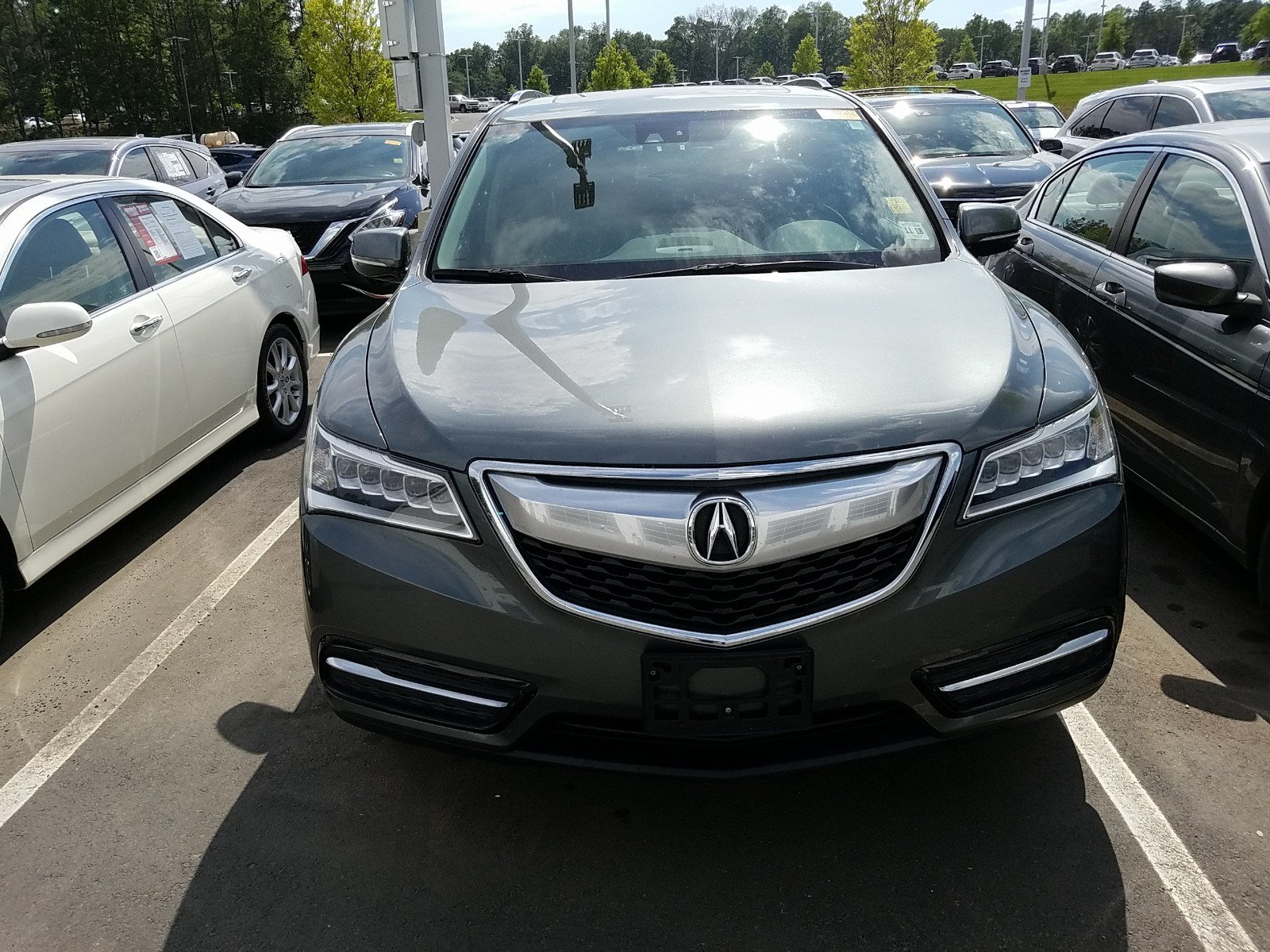 Pre Owned 2014 Acura MDX Tech Pkg SUV in Woodbridge A