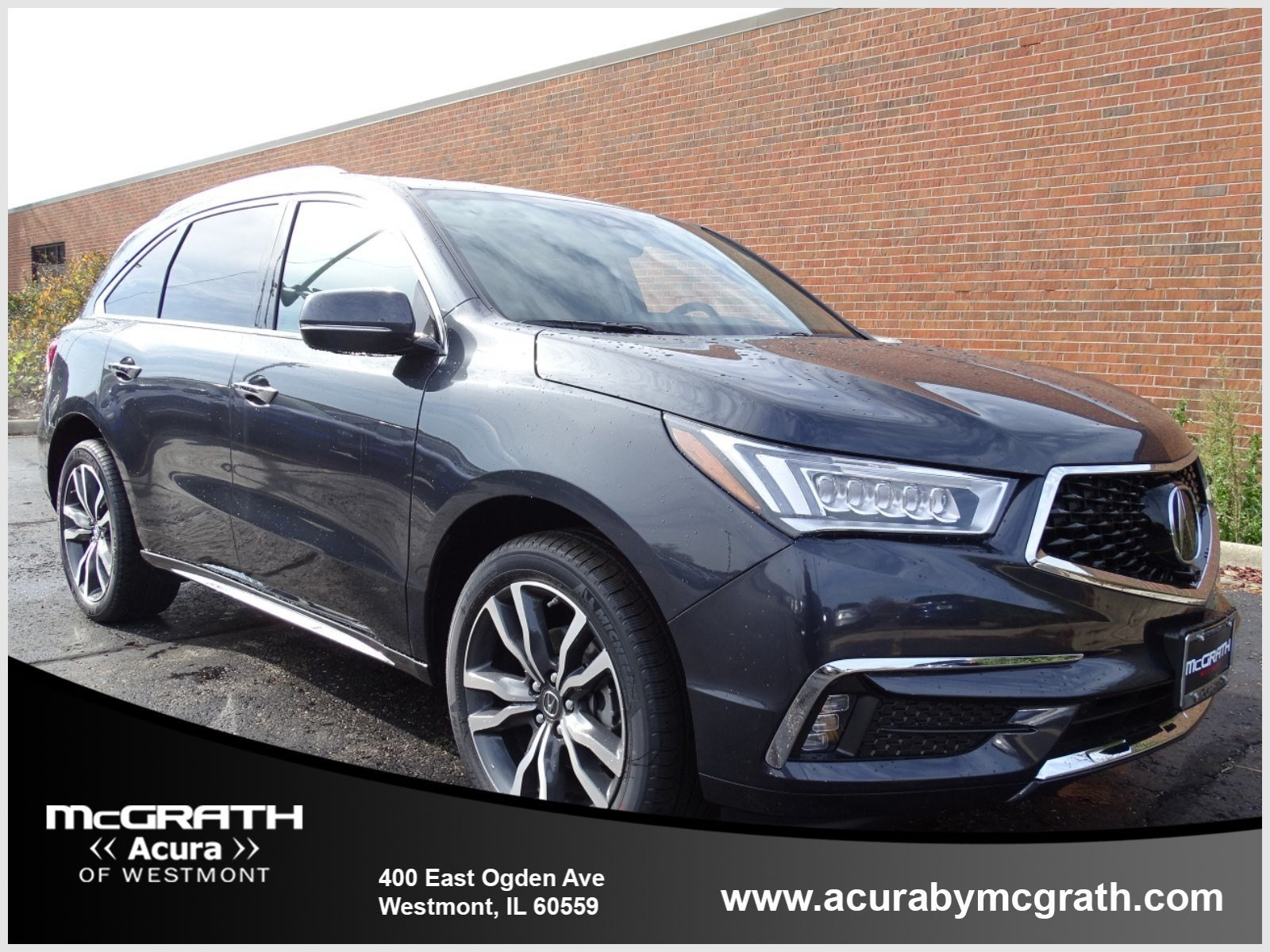 New 2019 Acura MDX SH AWD with Advance Package