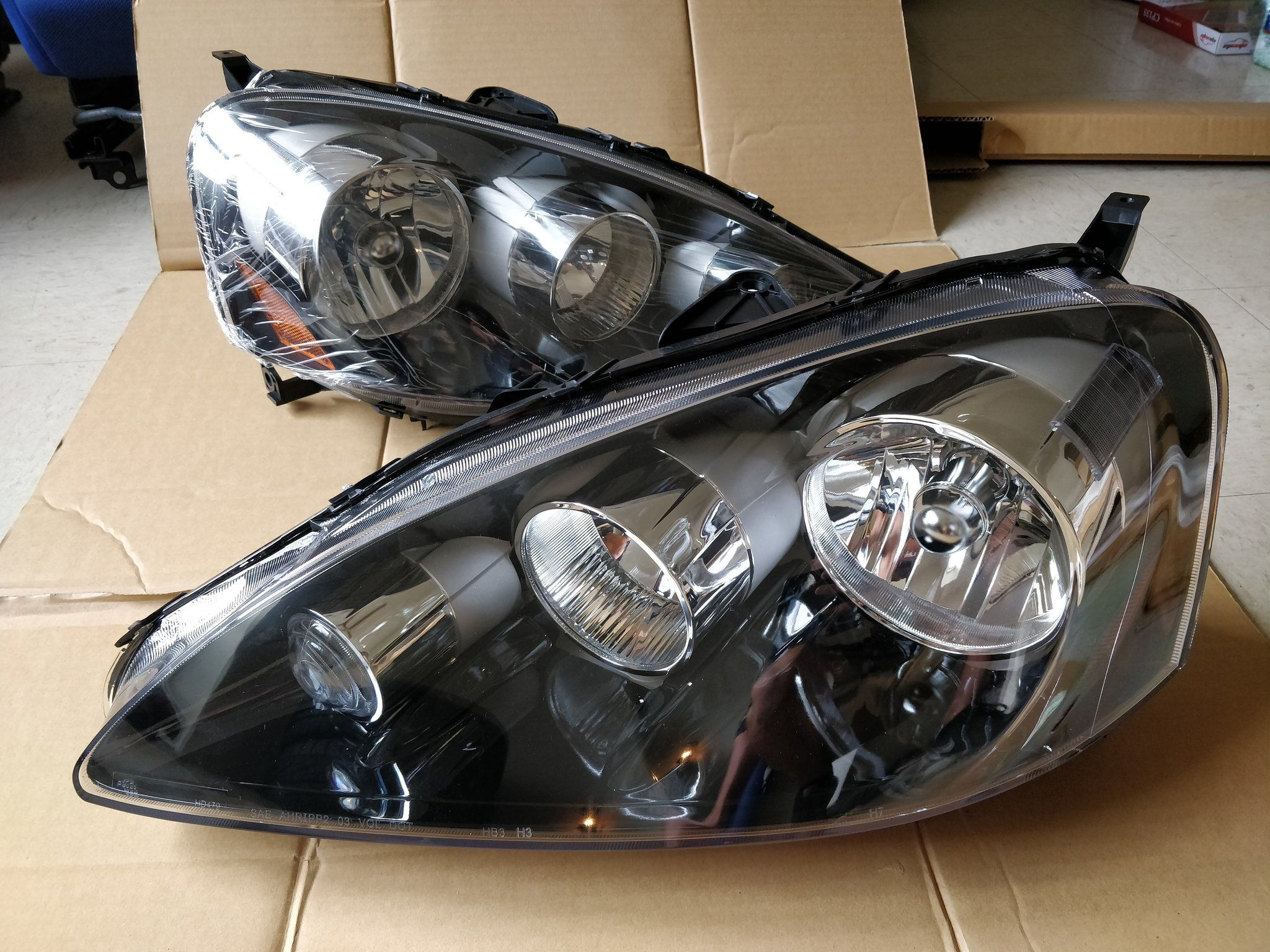 2005 06 Acura RSX OEM Replacement Headlights BRAND NEW – DC5R Parts