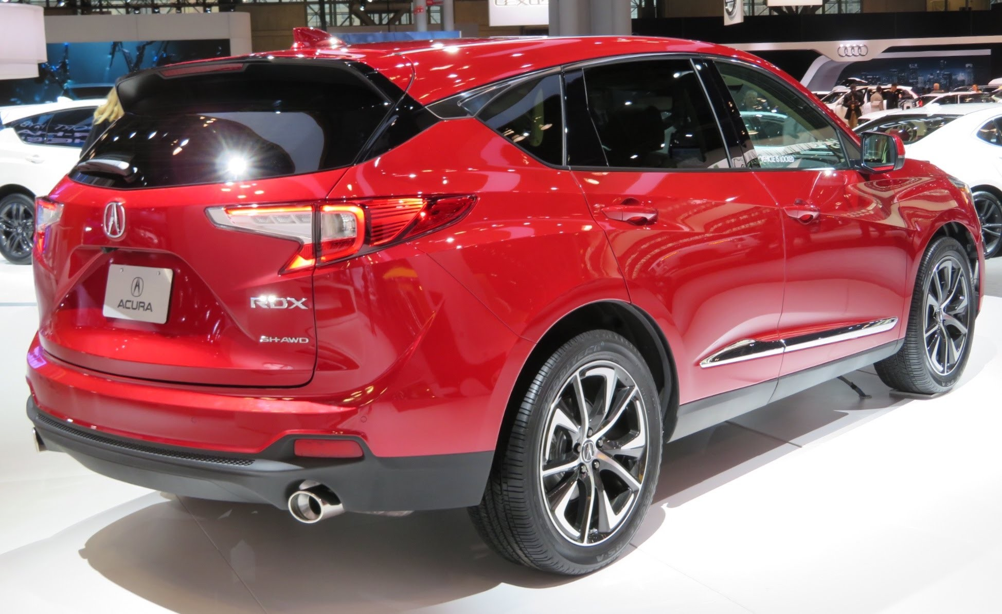 Acura Usa Best Of File 2019 Acura Rdx A Spec Rear Red 4 2 18 Wikimedia Mons