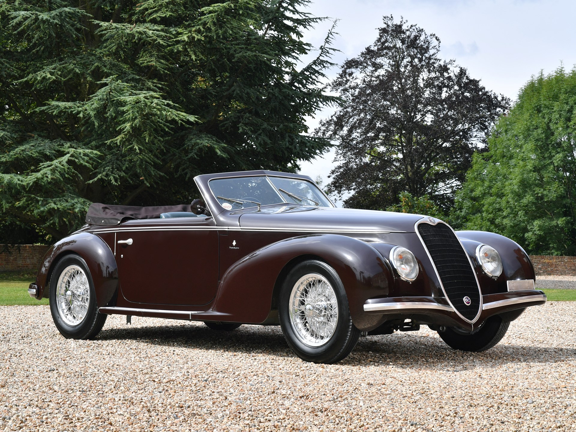 1939 Alfa Romeo 6C 2500 Sport Cabriolet by Touring