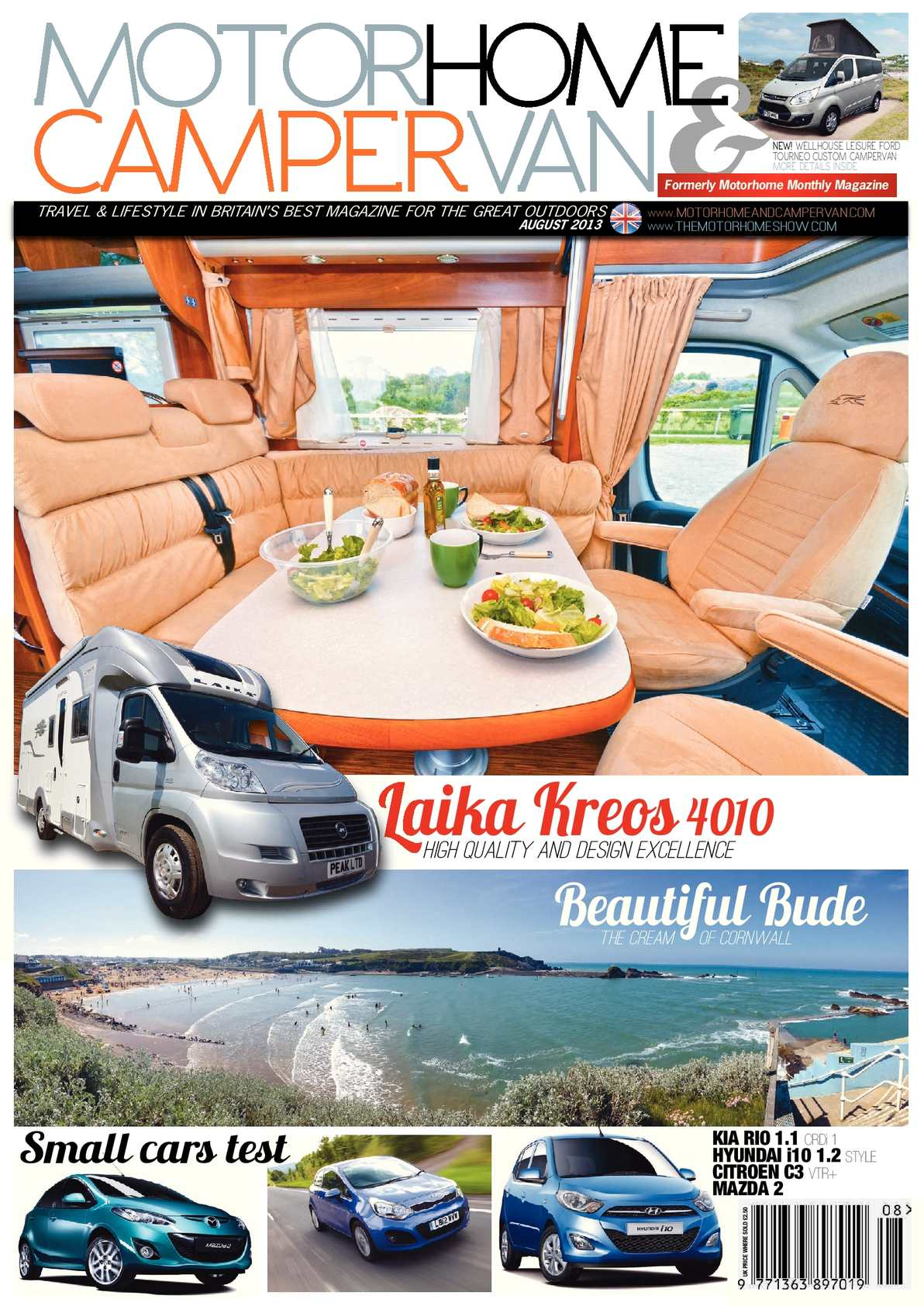 August 2013 Motorhome and Campervan