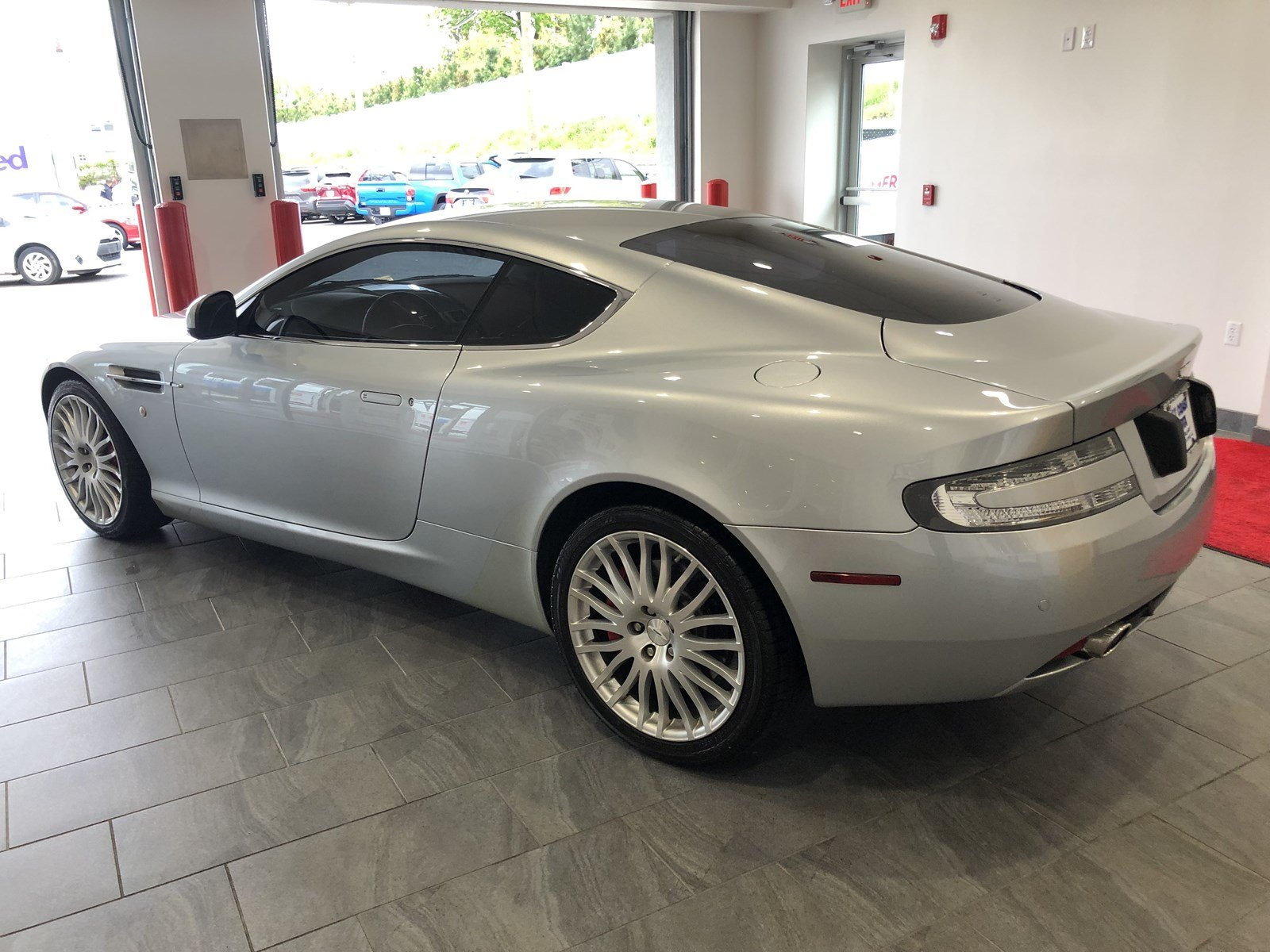 Pre Owned 2010 Aston Martin DB9 5 9L V 12 2DR COUPE 2dr Car in Wood Ridge AGA