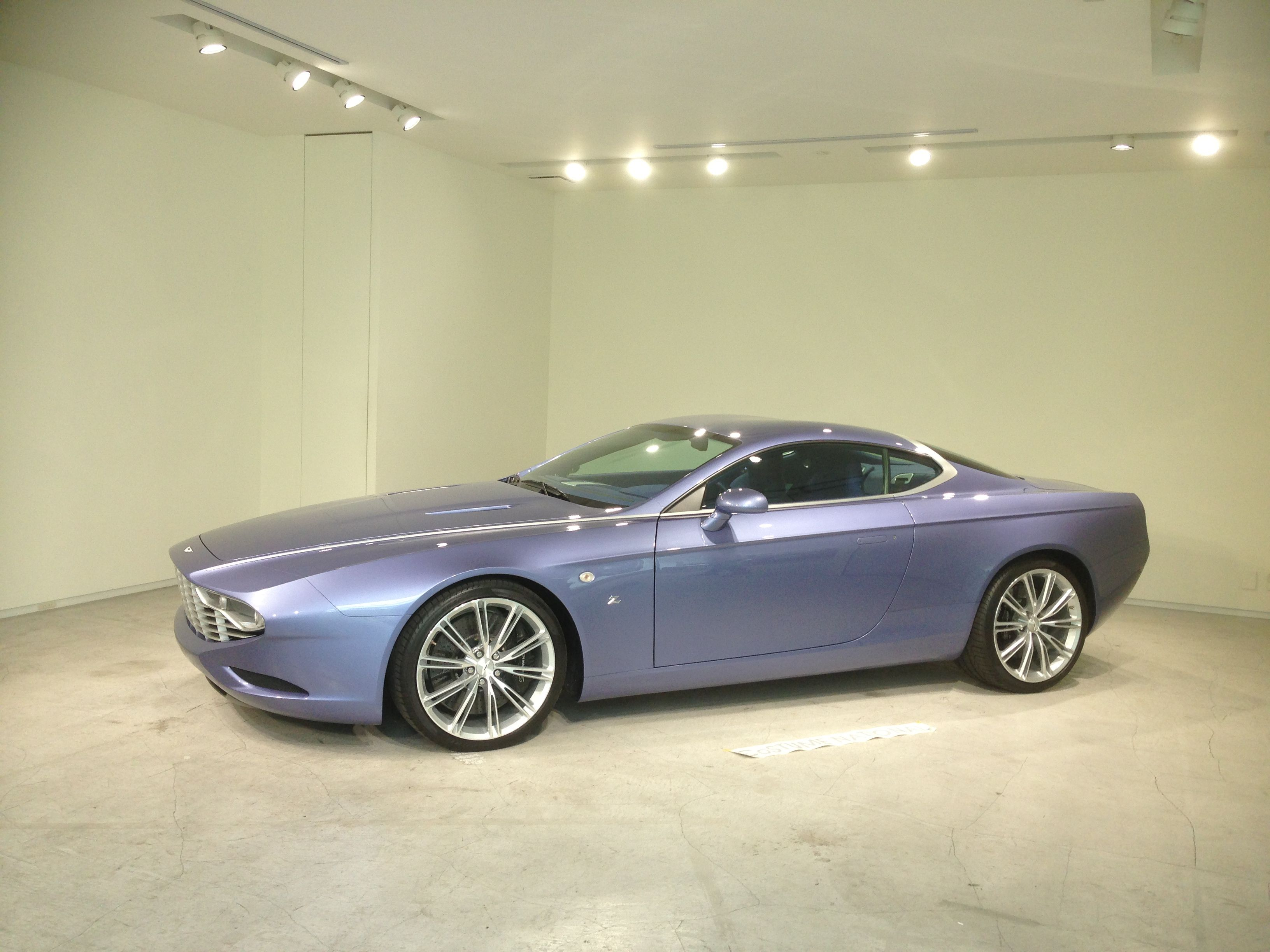 Aston Martin DBS Coupe ZAGATO CENTENNIAL Costume National X ZAGATO collaboration Special debut in Japan