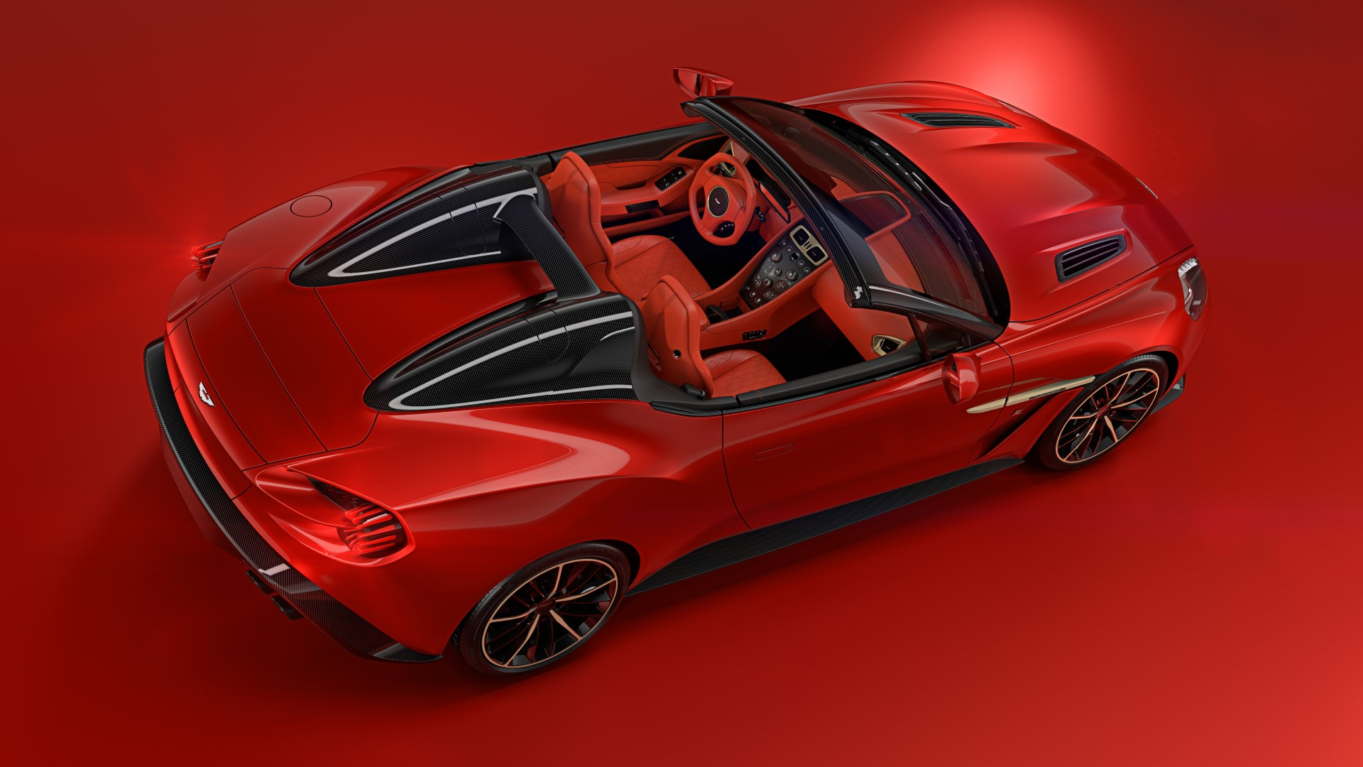 According to Aston Martin the Speedster and the Shooting Brake represent the two extremes of the Vanquish Zagato family