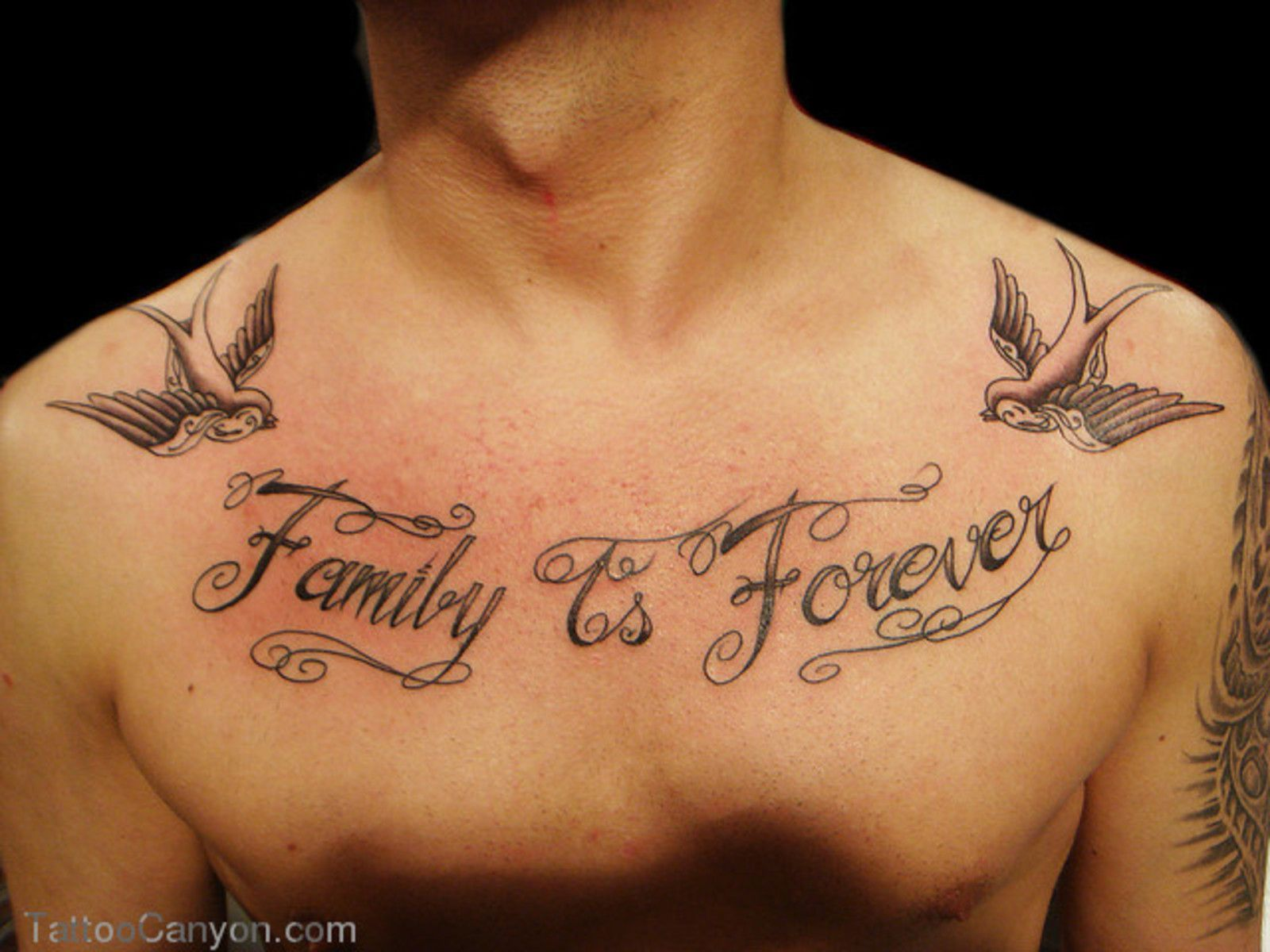 Eternal Tattoos Inspirational Family Quote Tattoo Designs Family is forever Lettering