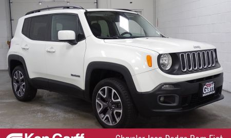 2016 Jeep Renegade New Pre Owned Jeep Renegade Latitude with Navigation & 4wd
