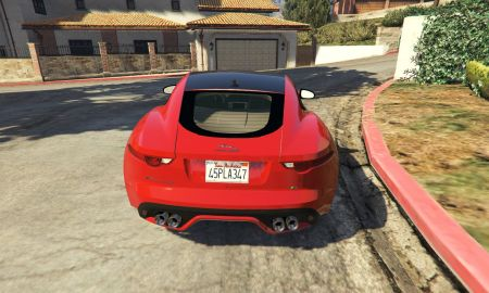Jaguar F Type Coupe Luxury 2017 Jaguar F Type Coupé Gta5 Mods
