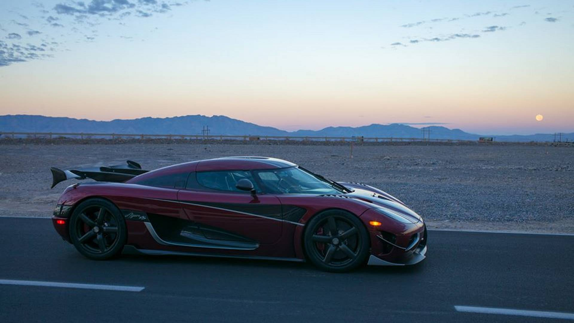 koenigsegg agera rs sets new record for fastest production car 1
