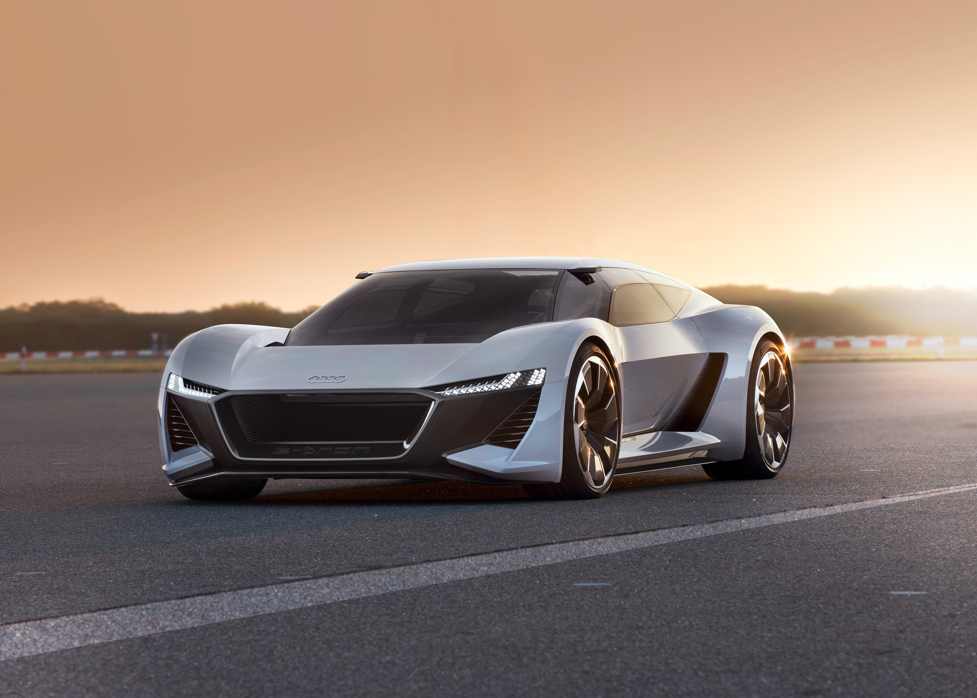 audi pb 18 e tron 4096x2925 electric supercar 2019 4k