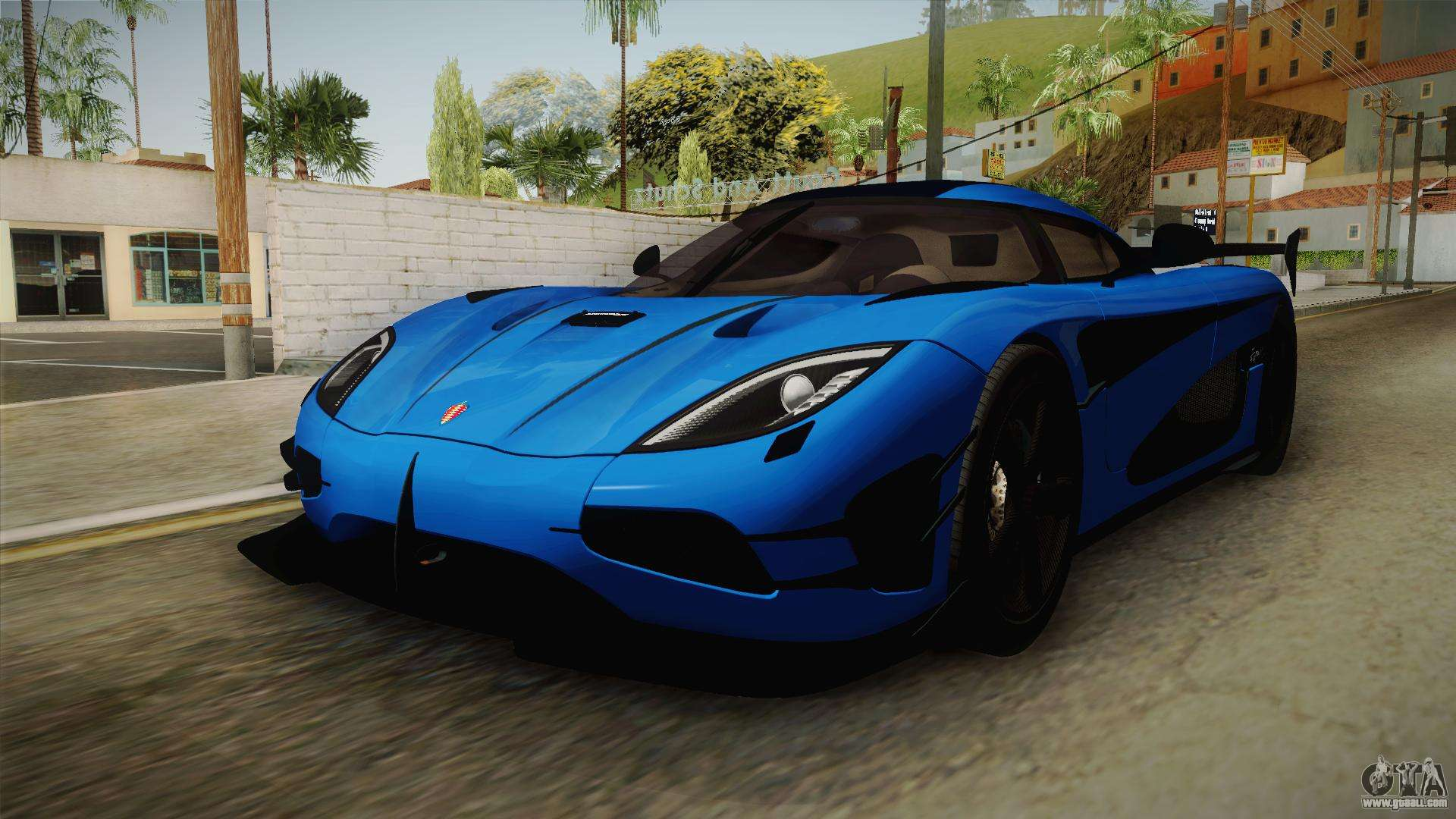 Koenigseggs Agera R Beautiful Koenigsegg Agera Rs V1 for Gta San andreas