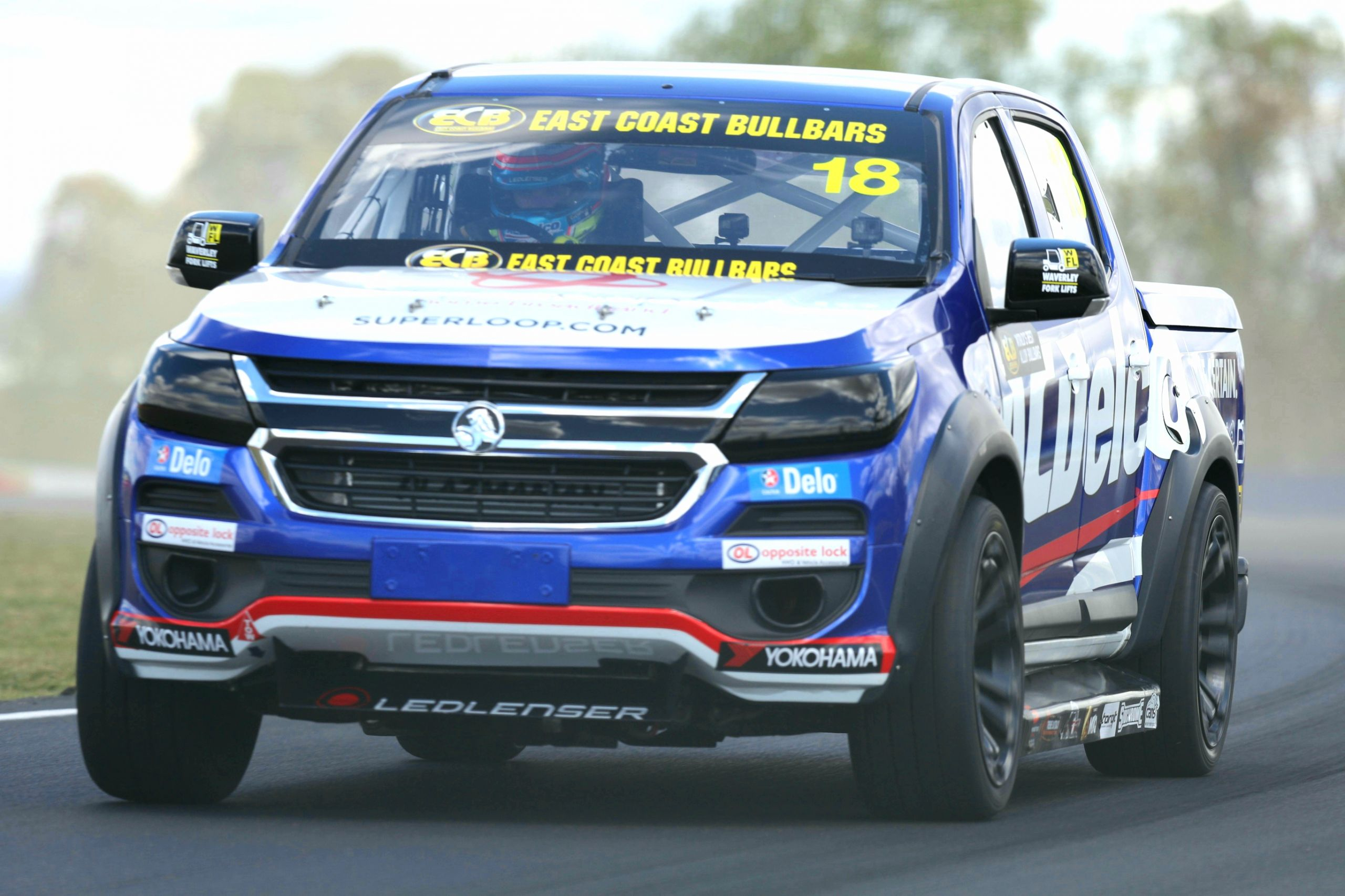 Holden Western Australia Inspirational Pretty Quickest In Superutes Practice 2 with Late Effort