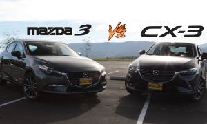 Hyundai Elantra Vs Mazda 3 Luxury 2018 Mazda3 Hatchback Vs 2018 Mazda Cx 3