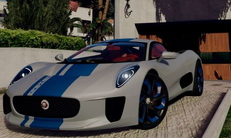 Cx75 Jaguar Beautiful Jaguar C X75 [add ] Gta5 Mods