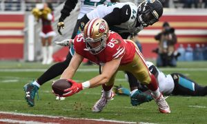 Jacksonville Jaguars News Unique 49ers 2018 who is Series Tight End George Kittle