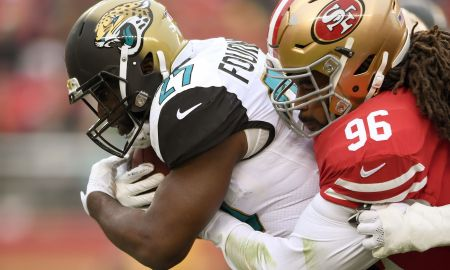 Jaguars In California New 49ers 2018 who is Series Defensive Tackle Sheldon Day