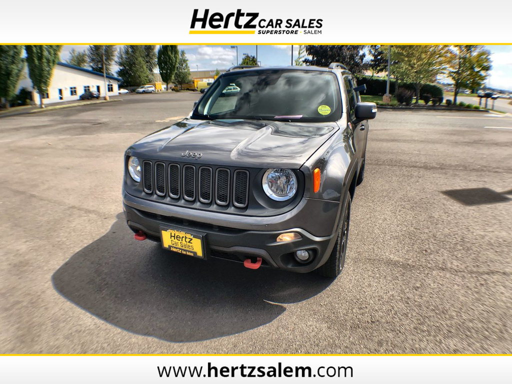 Jeep Liberty Renegade Lovely 2018 Used Jeep Renegade Trailhawk 4x4 at Hertz Car Sales Of