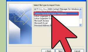 Lotus Notes to Outlook Fresh فتح ملفات Vcf Wikihow