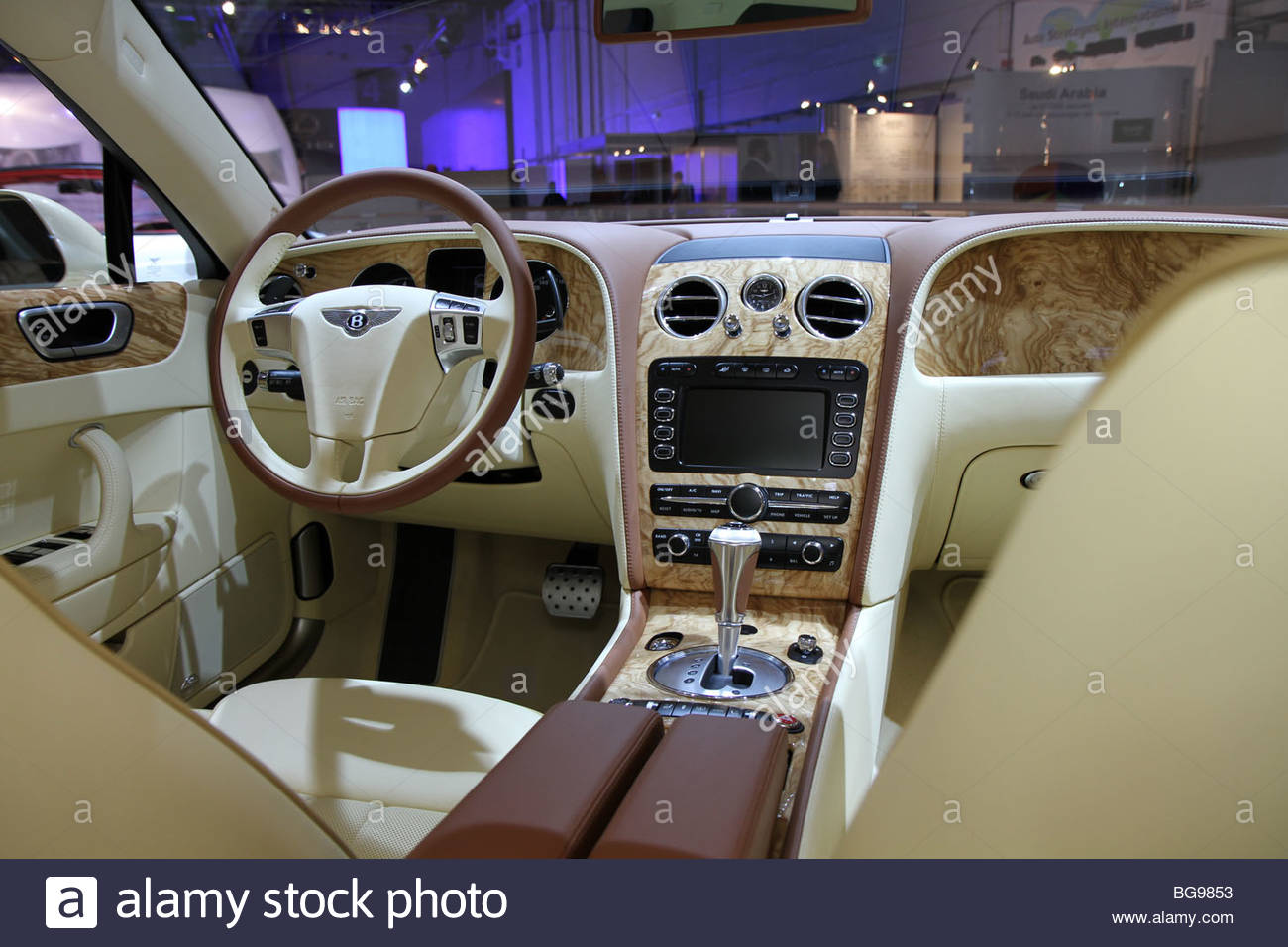 bentley continental flying spur speed interior BG9853