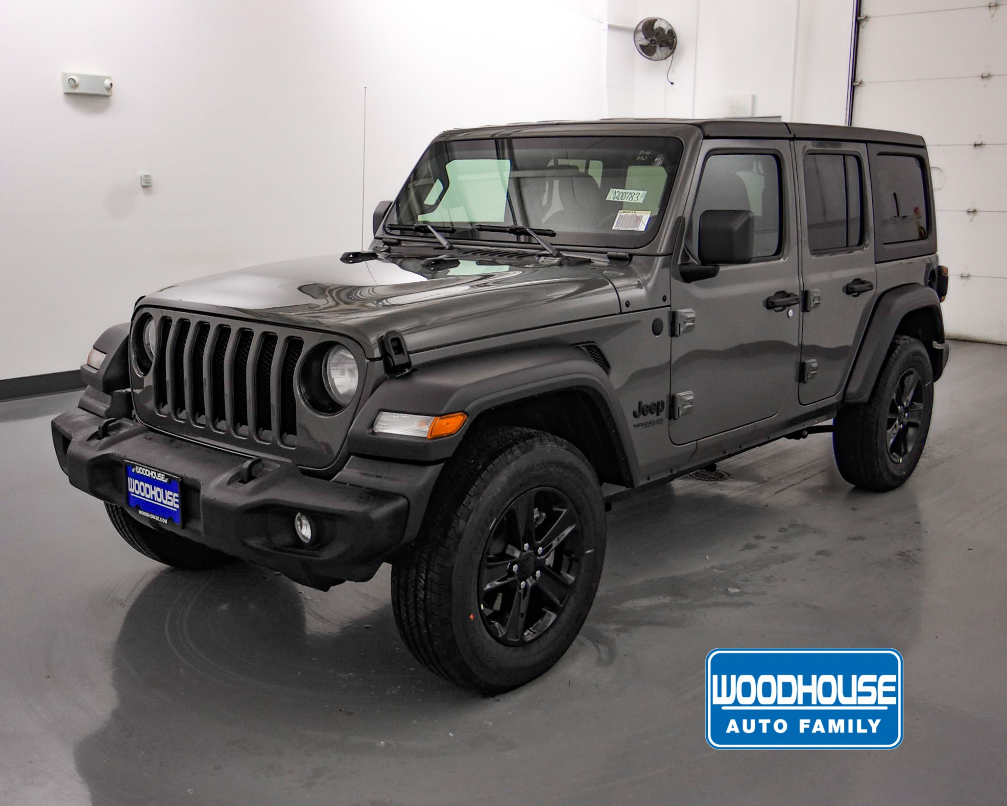 Matte Black Jeep Wrangler New New 2020 Jeep Wrangler Unlimited Sport Altitude 4x4