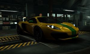 Mclaren Mp4-12 C Luxury Mclaren Mp4 12c Need for Speed World Rides