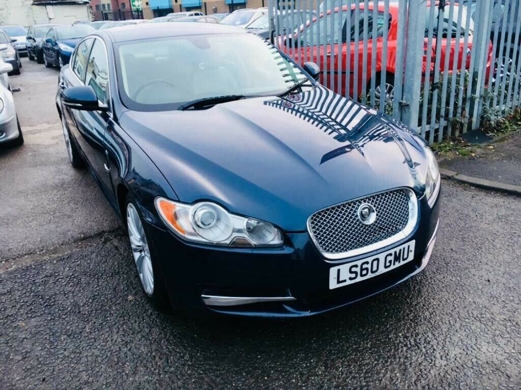 New Xf Jaguar Awesome Jaguar Xf3 0d V6 240 Premium Luxury Automatic Diesel Saloon Blue 2010 1 Owner Satnav Leather In Longsight Manchester