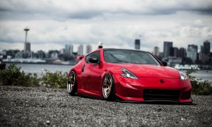 Nismo Canada Lovely Red 370z Modified