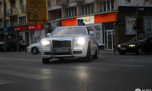 Rolls Royce Ghost Mansory Unique Rolls Royce Mansory White Ghost Ewb Limited 4 September