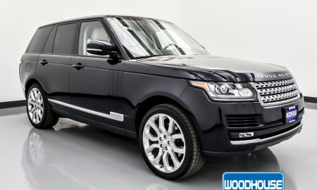 2015 Range Rover Supercharged Unique Pre Owned 2015 Land Rover Range Rover Supercharged with Navigation & 4wd
