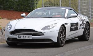 Aston Martin Db5 Zagato Fresh aston Martin Db11 Volante Spied Again with even Less Camo