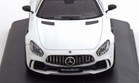 Brabus Amg Gt New Premiumx Mercedes Amg Gt R Coupe Plain Body 2018 Whitemetallic Carbon Scale 1 43 Made for Cmr