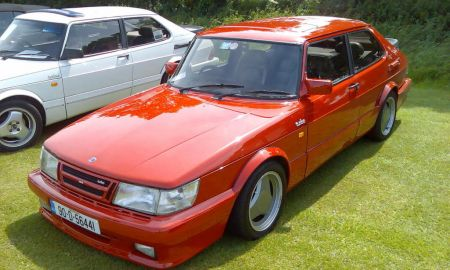 """Saab Carlsson Elegant 25 Cards In the Collection """"the Saab 900 Turbo"""" Of the User"""