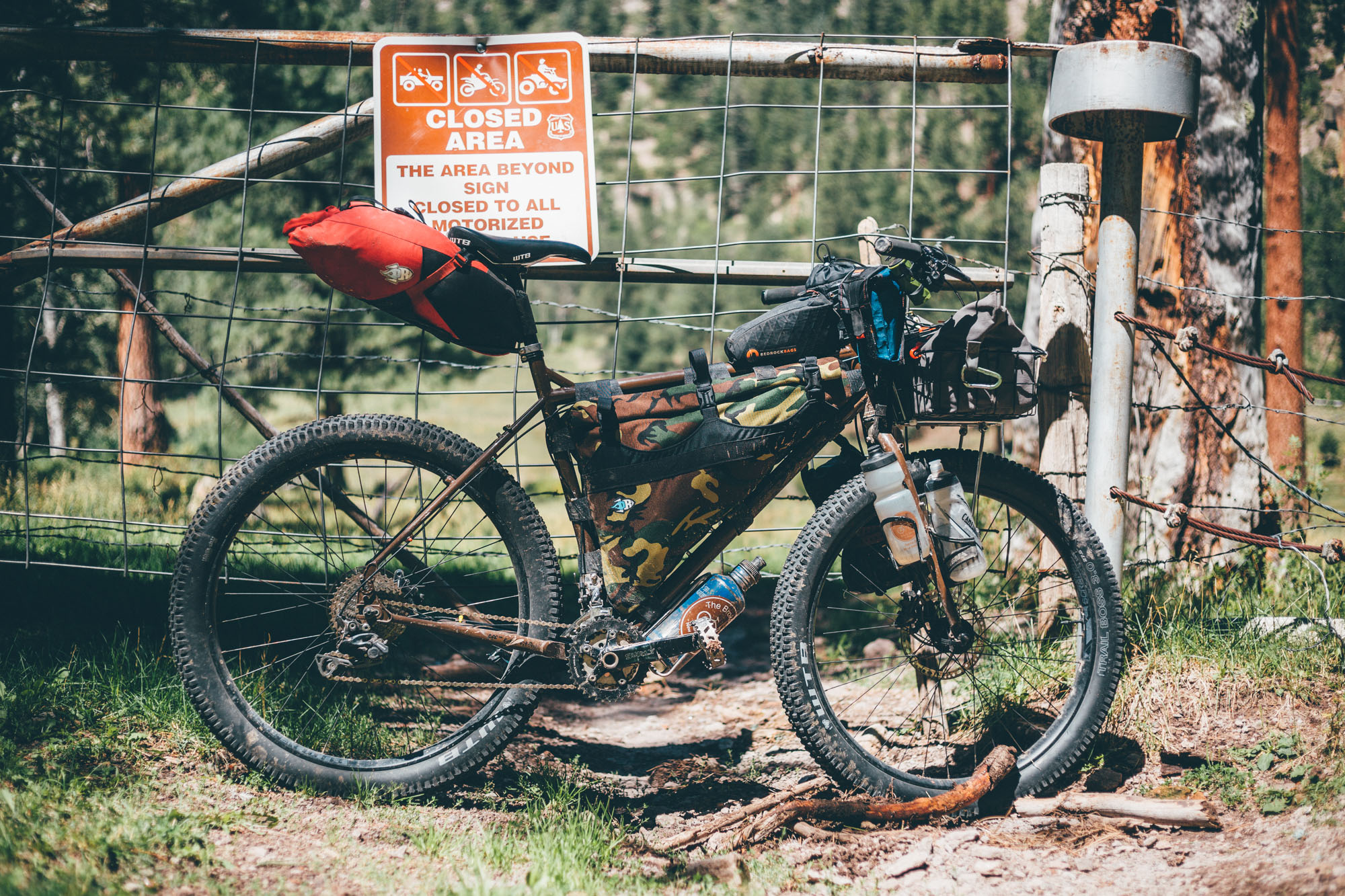 Wald Front Rack Fresh 2017 Surly Ogre Brand New and Tested Bikepacking