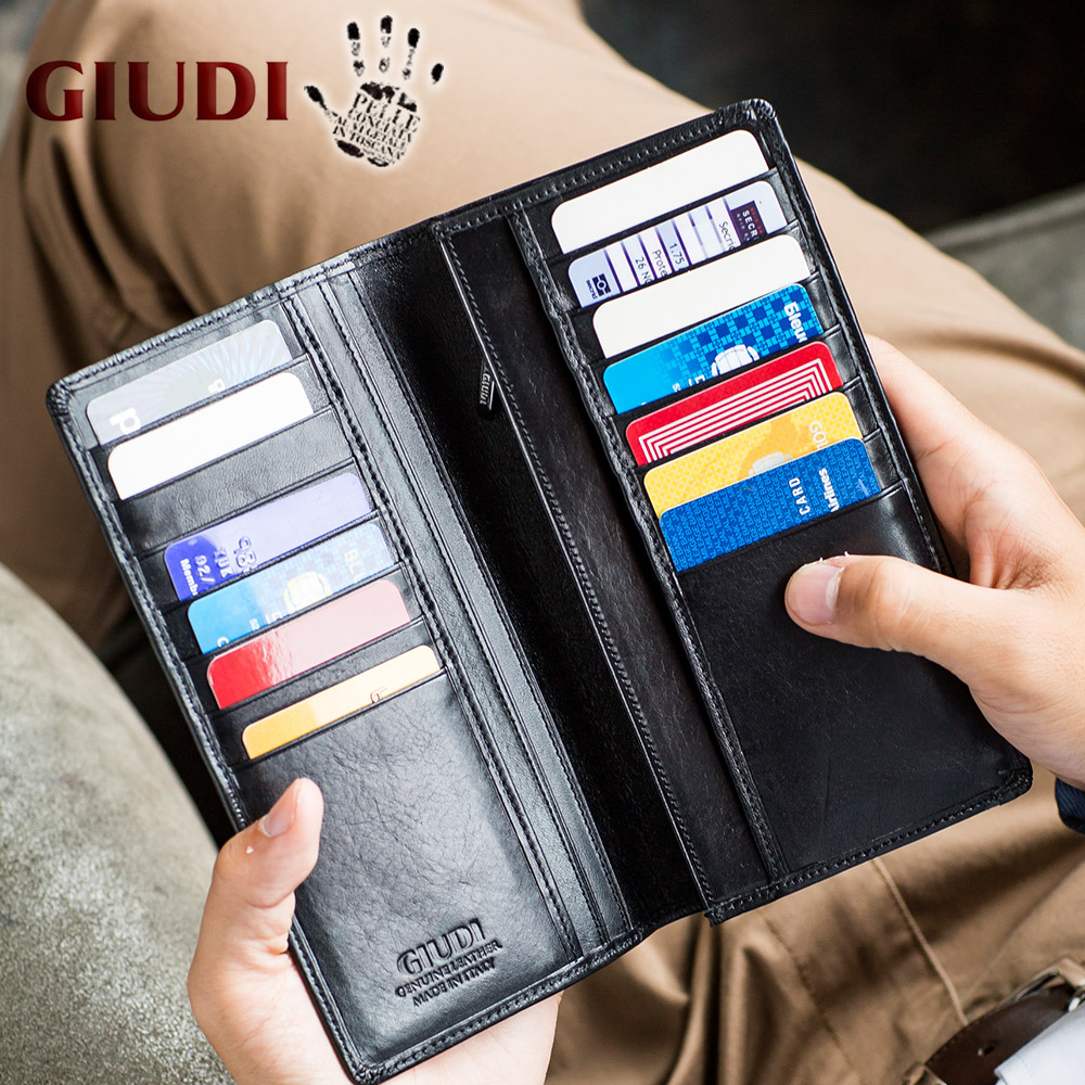 Yes Bank Credit Card Lovely [name Case for Free] 14 Pieces Of Giudi Diwoody Italy Binding Leather Long Wallet Long Wallet Wallet Long Label Wallet Cards