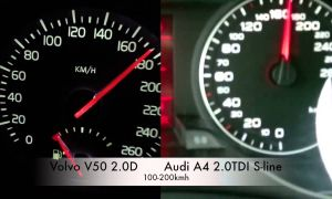 Volvo 140 Best Of Audi A4 2 0tdi Vs V50 2 0d