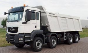 Volvo 1998 Luxury Man Tgs 41 400 Bb Ww Automatic 8x4 Meiller Tipper 10 Units