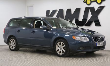 Volvo 2008 Fresh Volvo V70 2 0d Kinetic Business Suomi Auto Webasto Koukku