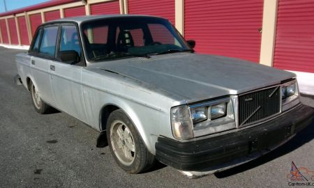 Volvo 244 Turbo Luxury 1891 Volvo 240 Intercooled Turbo